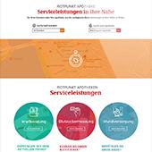 Rotpunkt Apotheken Website